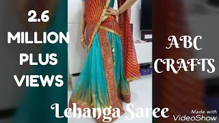 96. Lehange Making from Old Saree