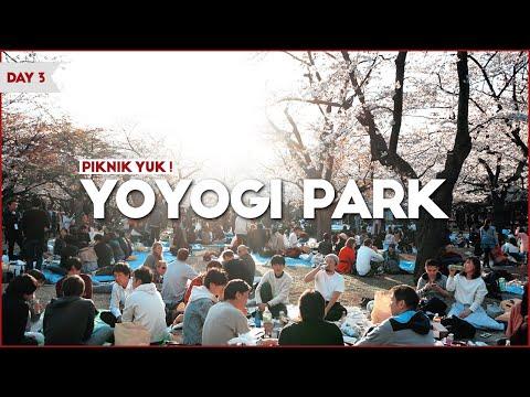 Piknik Di Jepang, Berasa Kayak Di Film Anime Komik Jepang - Yoyogi Park / Vlog Jepang Hari 3 - Awi