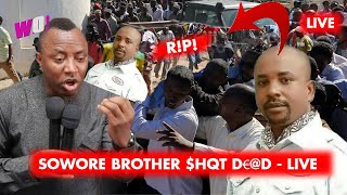 SOWORE39S BROTHER HQT DD BY FULANI HERDSMEN - LIVE IN EDO CAMP