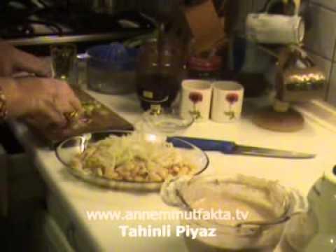 Tahinli Piyaz Tarifi