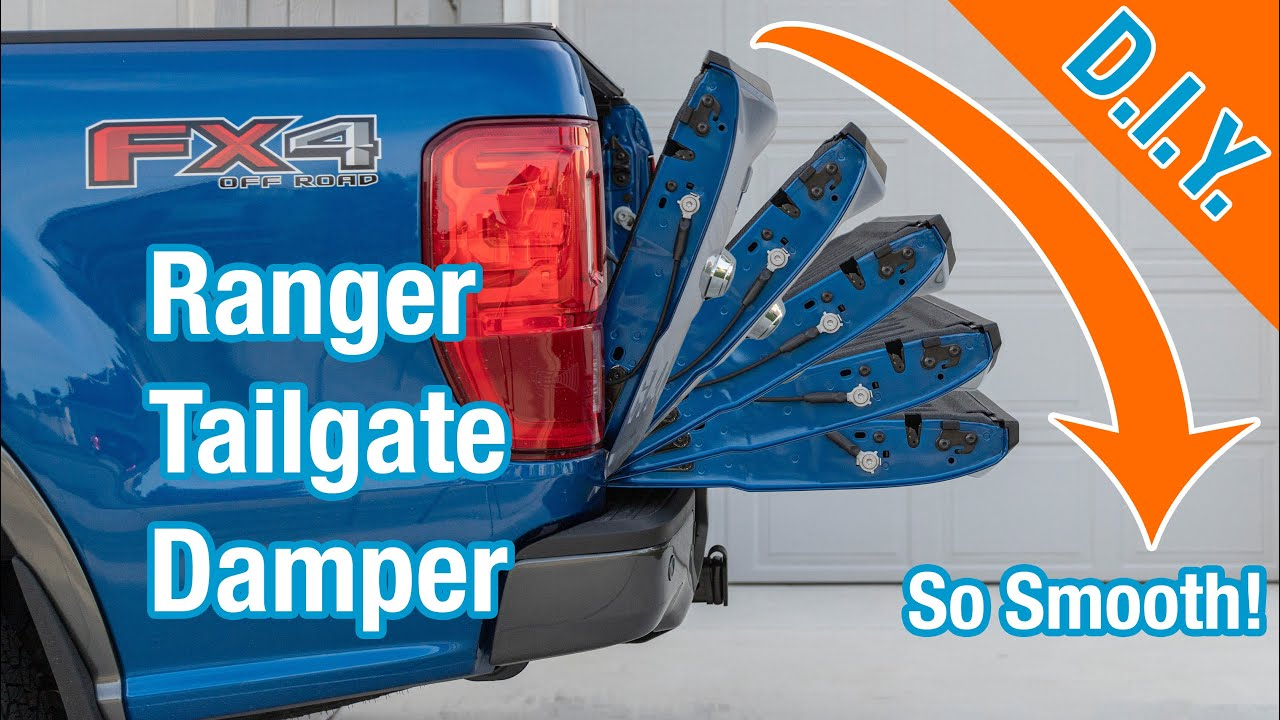 Youxmoto Fit for 2019-2020 Current Ford Ranger Tailgate Assista 43206