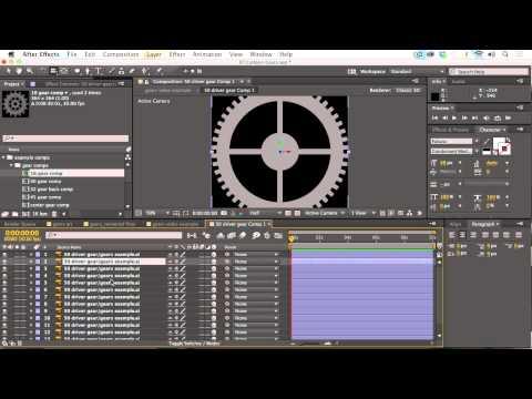 3D Meshing Gears Tutorial