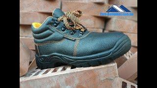 Кожаные рабочие ботинки, спецобувь из натуральной кожи.(, 2017-11-05T10:51:33.000Z)