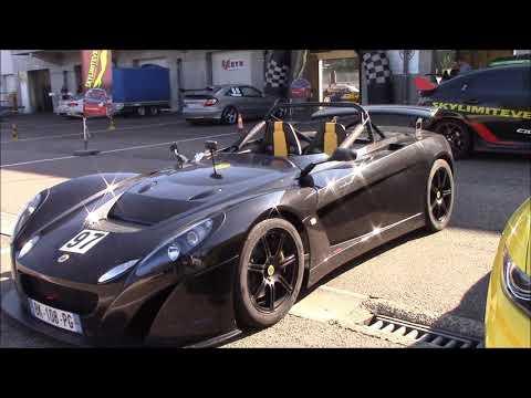 Lotus 2-eleven And Lotus Evora GT 430 Racing At Circuit Zolder