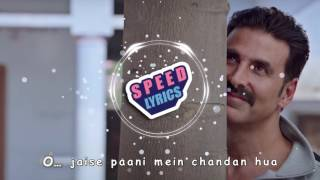 Hans Mat Pagli - Full Song - Lyrics Video - Toilet Ek Prem Katha