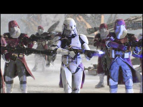 BATTLE OF MYGEETO - Star Wars: Galaxy at War Mod Gameplay