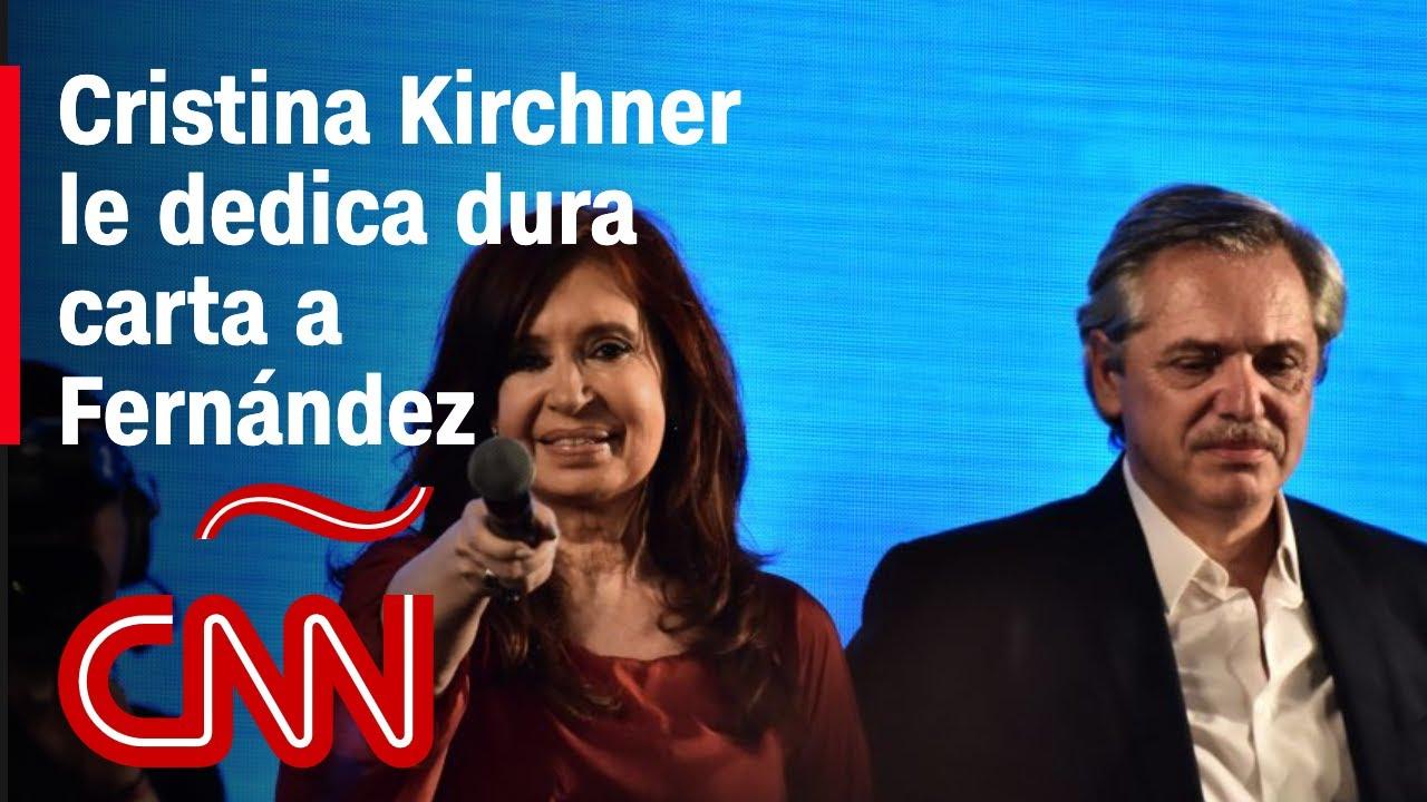 Download Esto dice la carta de Cristina Kirchner a Alberto Fernández y sus funcionarios
