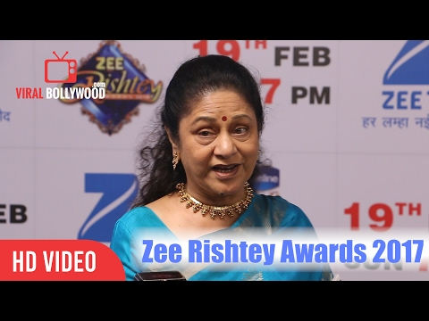 Aruna Irani At Zee Rishtey Awards 2017 | Viralbollywood