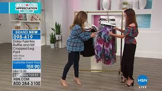 HSN | HSN Today: Daisy Fuentes Fashions 04.06.2018 - 08 AM