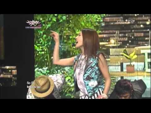 【Music Bank】BoA (feat. EXO-M LuHan) - Only One