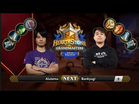 Alutemu vs Bankyugi   2021 Hearthstone Grandmasters Asia-Pacific   Top 8   Season 1   Week 5
