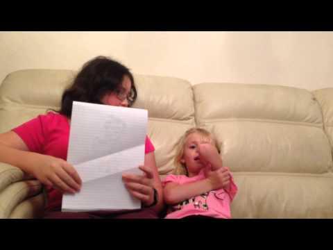 Treasure Island Interview Rachel age 12, Lottie age 5
