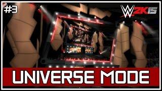 "WWE 2K15 Universe Mode - RAW: ""Legends Collide!"" #3 [Custom Universe]"