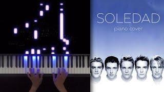 Soledad - Westlife - Piano Cover Tutorial