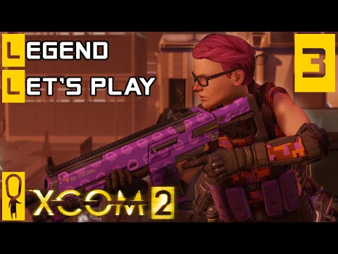 XCOM 2 - Part 3 - Rescue VIP Dr Kent Nielsen - Let's Play - XCOM 2 Gameplay [Legend Ironman]
