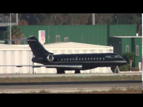 Private Bombardier BD 700 1A10 Global Express XRS VQ-BKI At Malaga LEMG