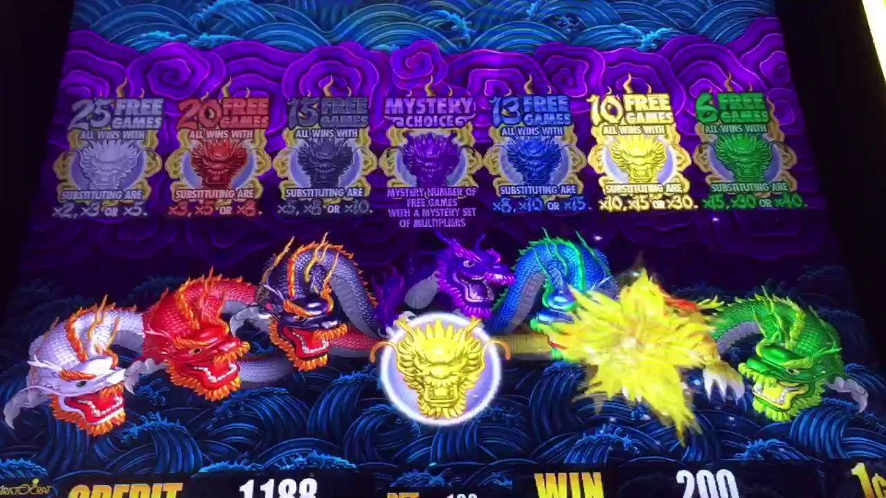 Aristocrat 5 Dragons
