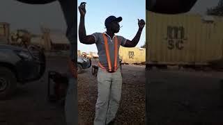 Ankara oyun havası oynayan Burkina Faso lu jagura