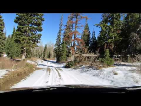 Monte Cristo Bigfoot Investigation Winter Conditions
