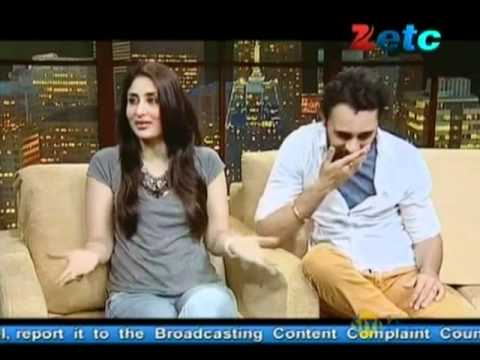 Komal Nahta with Kareena Kapoor & Imran Khan