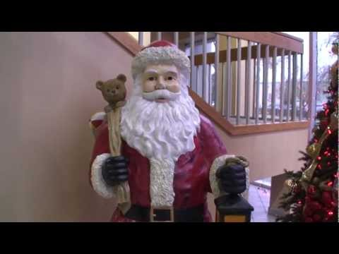 6FT Life Size Christmas Santa