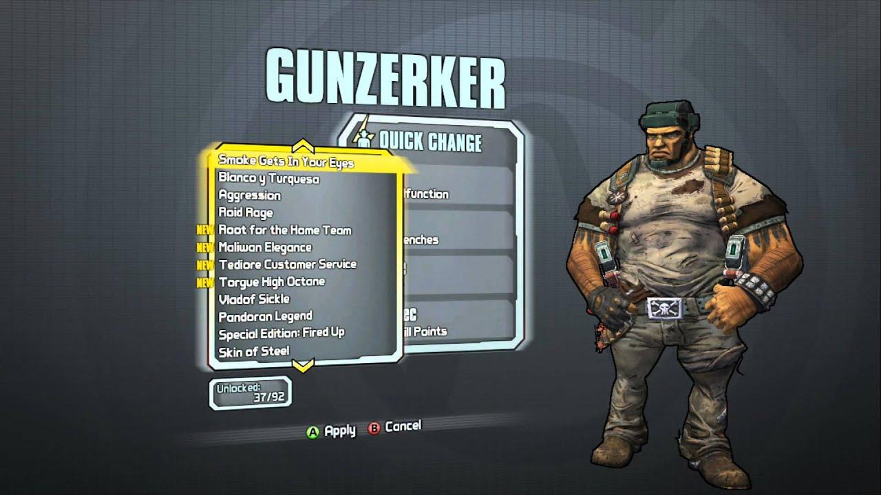 Borderlands 2 - Gunzerker Domination Pack (Major ... Borderlands 2 Max Backpack