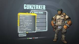 Borderlands 2 - Gunzerker Domination Pack (Major Malfunction Head and In The Trenches skin)