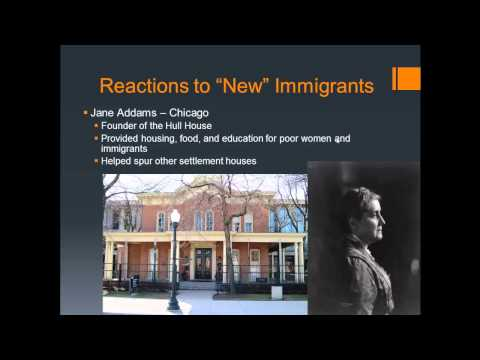 APUSH Review: New Immigration