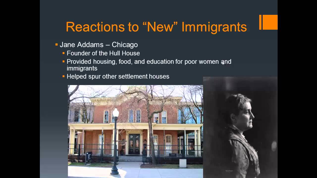 Difference Between Old and New Immigrants