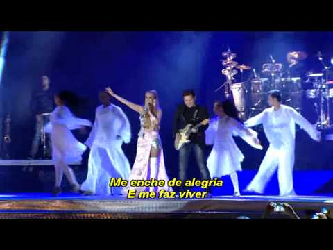 Meus DEUS é Fiel - Banda Calypso - DVD Oficial em Brasilia.