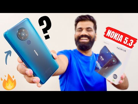 Non-Chinese Mid Range Phone With 2 Year Android Upgrades - Nokia 5.3 Unboxing & First Look🔥🔥🔥