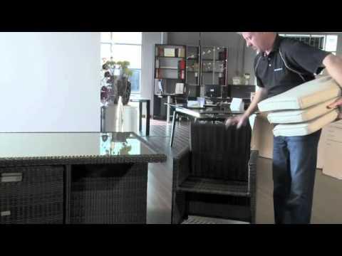 Kontiki Patio Furniture Easy Storage - YouTube