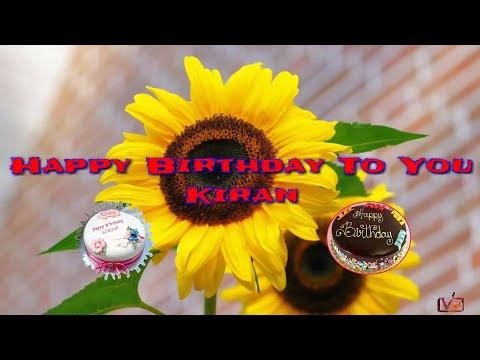 Happy Birthday Kiran
