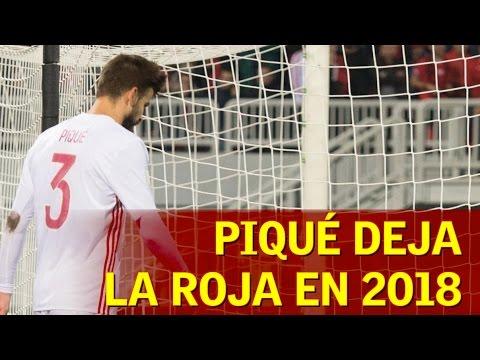 Piqué anuncia que deja la Selección tras el Mundial