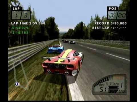 test drive le mans le mans race part 1 sega dreamcast youtube. Black Bedroom Furniture Sets. Home Design Ideas