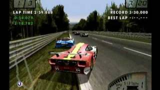 Test Drive Le Mans: Le Mans Race - Part 1 (Sega Dreamcast)