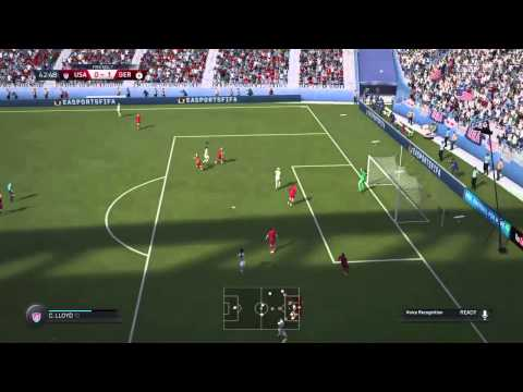 FIFA 16 DEMO | Women Teams | United States v. Germany