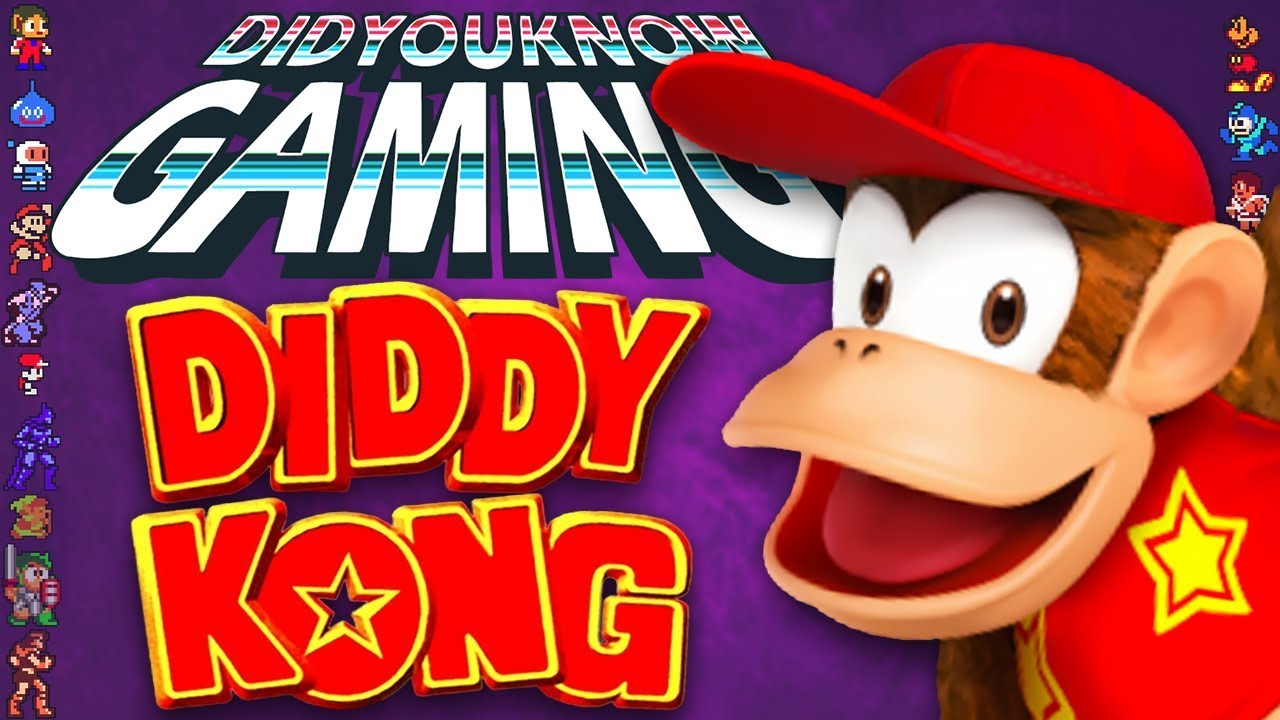 diddy kong did you