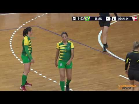 BRAZIL X DENMARK - WOMEN'S WORLD DEAF HANDBALL CHAMPIONSHIPS