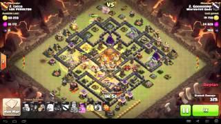 Clash of Clans - TH10 - Queen Walk, GoHo - War 81 vs LOS PERALTOS - Gooroomp vs #2
