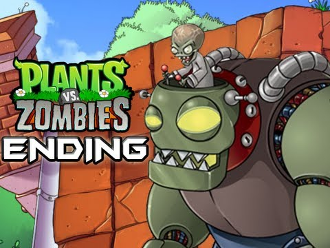 Plants Vs. Zombies - Gameplay Walkthrough Part 16 - ENDING - ZOMBOSS (World 5) (HD Let