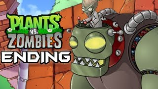 Plants Vs. Zombies - Gameplay Walkthrough Part 16 - ENDING - ZOMBOSS (World 5) (HD Let's Play) thumbnail