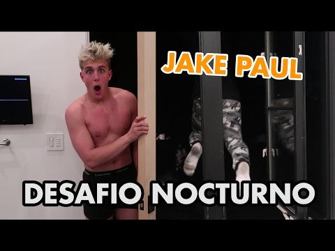 24HR OVERNIGHT JAKE PAUL'S CHALLENGE IN ROOM