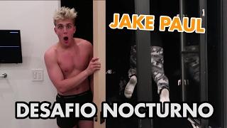 24HR OVERNIGHT CHALLENGE IN JAKE PAUL'S ROOM