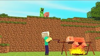 ♫ Attention - Charlie Puth | Minecraft Music Video♫