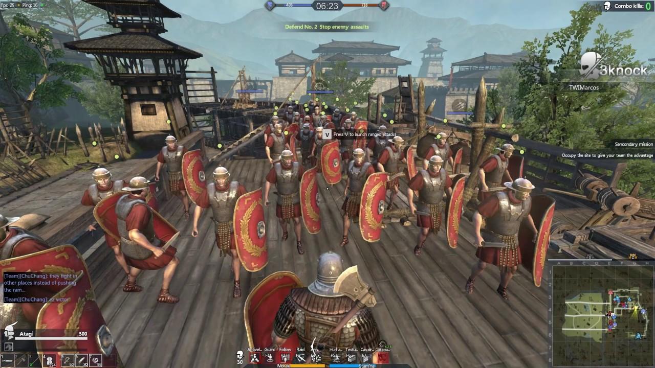 Tiger Knight: Empire War - Premade team vs random team in siege (matchmaking fails) - Match 10