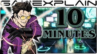 12 Minutes of Travis Strikes Again: No More Heroes Gameplay (Co-Op - Nintendo Switch)