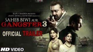 Saheb Biwi Aur Gangster 3 Official Trailer | Release on Today | Sanjay Dutt, Chitrangada Singh