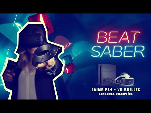 Beat Saber - Laimē PS4 Pro + VR