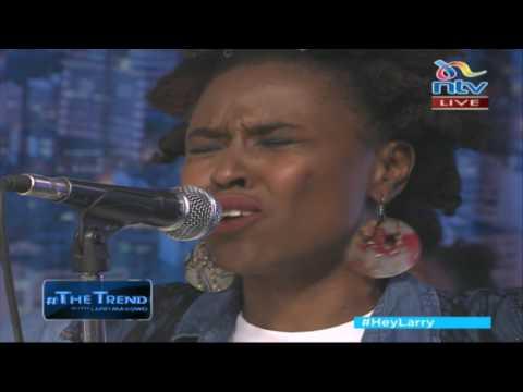 Kenya's finest reggae band Gravitti perform 'Jah' on #theTrend